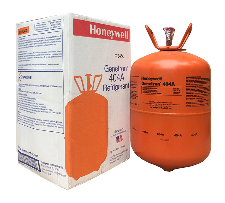 Gas lạnh r404a Honeywell